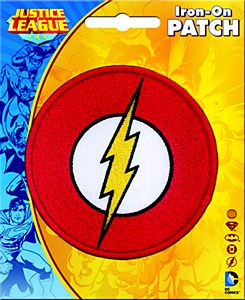 DC Flash Logo Patch