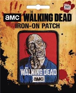 Walking Dead Zombie AMC Patch