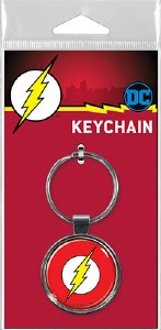 Ata-Boy DC The Flash Logo Keychain