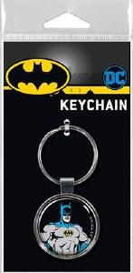 Ata-Boy DC Batman on Black Keychain