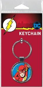 DC The Flash on Blue Keychain