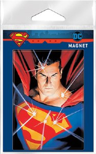 Alex Ross Superman Carded Magnet