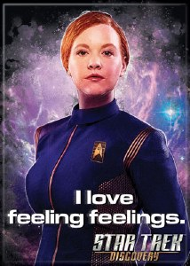 Star Trek Discovery Feelings Magnet