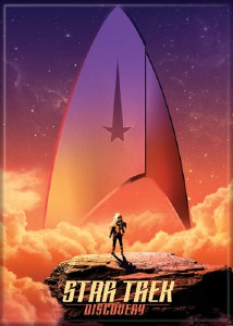 Star Trek Discovery Poster Magnet