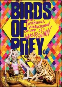 Birds of Prey Harley and Hyena Magnet