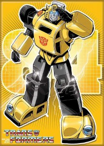 Transformers Bumble Bee Magnet