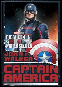 Falcoln and the Winter Soldier John Walker Magnet