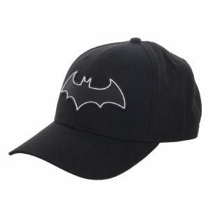 Batman Rubber Weld Flex Fit Hat