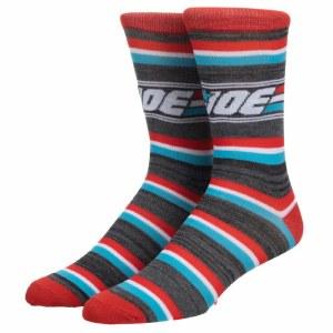 GI Joe Logo Stripe Crew Socks