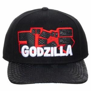 Godzilla Kanji Pre-Curved Snapback Hat