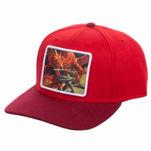 Dungeons & Dragons Sublimated Patch Pre-Curved Snapback