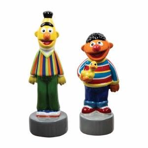 Sesame Street Bert and Ernie Salt and Pepper Shaker Set