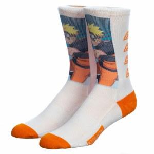 Naruto Graphic Sublimated Crew Sock