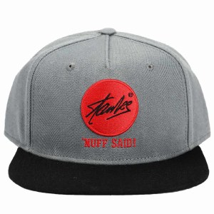 Stan Lee Embroidered Flat Bill Snapback Hat