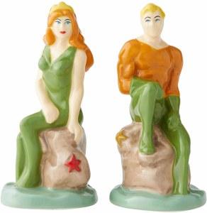 DC Mera/Aquaman Salt/Pepper Shakers