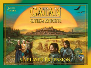 Settlers Of Catan Cities and Knights 5-6 Player Expansion