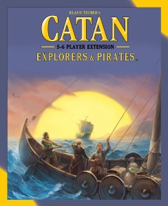 Catan Explorers and Pirates 5-6 extension