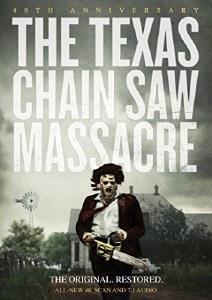 Texas Chain Saw Massacre 40th Anniversary DVD