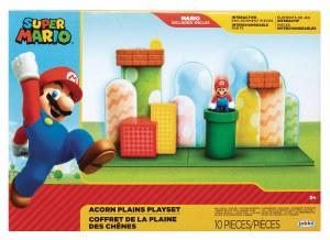 Nintendo 2-1/2In Mario Acorn Plains Playset