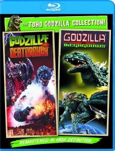 Godzilla Vs Destoroyah Godzilla Vs Megaguirus Blu ray