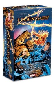 Legendary A Marvel Deck Building Game Fantastic 4 Expansion