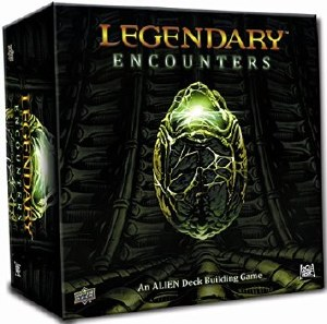 Legendary Encounters Alien Deck Building Game