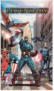 Legendary A Marvel Deck Building Game Legendary Captain America 75th Anniversary Expansion