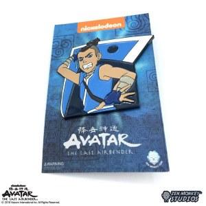 Avatar The Last Air Sokka with Boomerang Weapon Lapel Pin