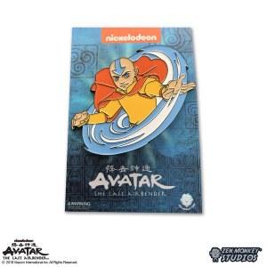 Avatar The Last Air Bender Aang Airbending Lapel Pin