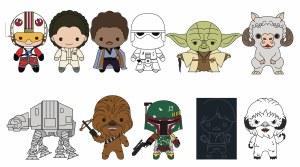 Star Wars Empire Strikes Back S2 3D Foam Bag Clip Blind Bag