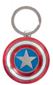 Avengers Captain America Shield Keychain