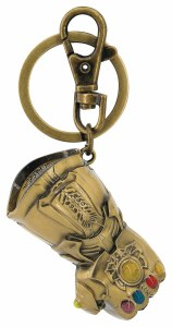 Avengers Infinity Gauntlet Pewter Key Ring
