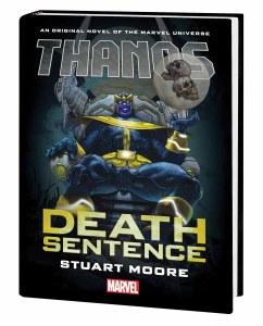Thanos Death Sentence Prose Novel HC