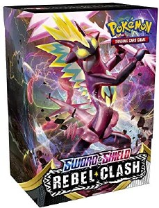 Pokemon Sword and Shield Rebel Clash Build and Battle Box