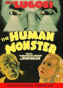Human Monster DVD