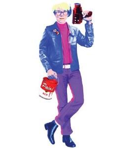 Andy Warhol Notecard