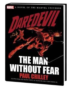 Daredevil Man Without Fear Prose Novel HC