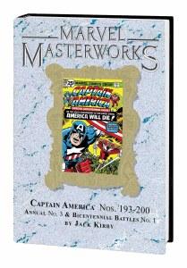 Marvel Masterworks Captain America HC Vol 10 Var