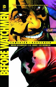 Before Watchmen Comedian Rorschach TP