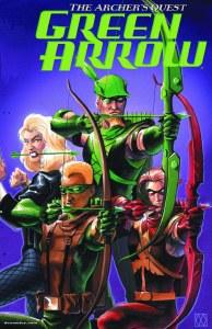 Green Arrow Archers Quest Deluxe Ed HC