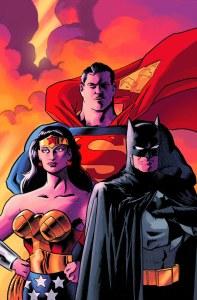 Batman Superman Wonder Woman Trinity Deluxe Ed HC