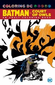 Batman The Court Of Owls Coloring Book TP