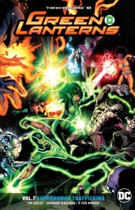 Green Lanterns Rebirth TP Vol 07 Superhuman Trafficking