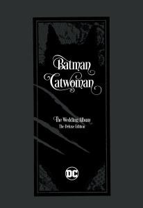 Batman Catwoman The Wedding Album Deluxe Ed HC