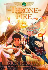 Kane Chronicles GN Book 02 Throne of Fire