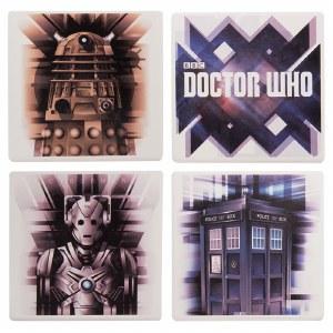 Doctor Who Ceramic Coaster Set