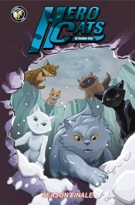 Hero Cats TP Vol 07 Season Finale