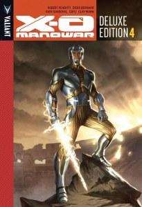 X-O Manowar Dlx Edition HC Vol 04