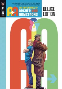 A&A Adventures of Archer & Armstrong Deluxe HC