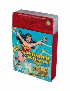 DC Comics: Wonder Woman Pop Quiz Trivia Deck